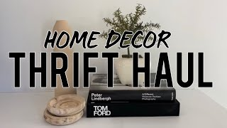 Thrift Haul HOME DECOR / Mid-century, Minimalist