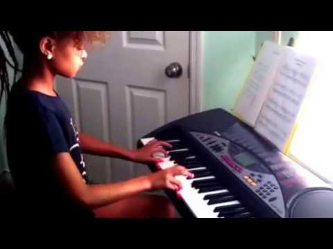 "My student Laura Wambua play ""Jazz composition"" and ""For Elise"""