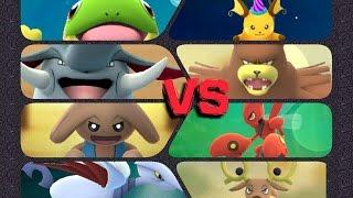 Donphan  - (Pokémon) - Pokémon GO Gym Battles 3 Gyms Politoed Hitmontop Donphan Scizor Ursaring Bellossom Skarmory & more