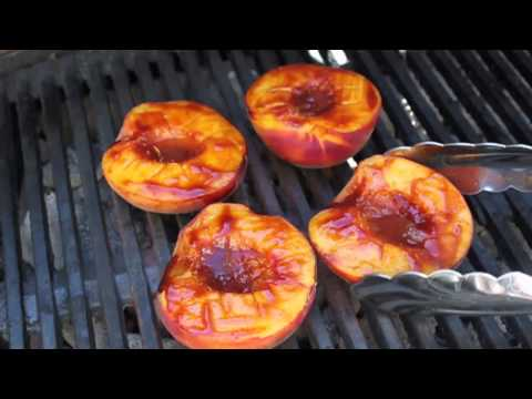 Barbecued Peaches – Great Summer Grilling Side Dish