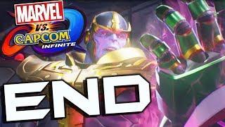Marvel Vs Capcom Infinite Story Part 9 FINAL BOSS & Ending!