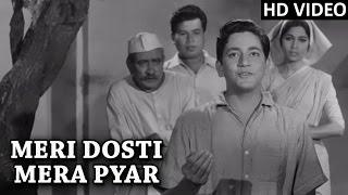 Meri Dosti Mera Pyar Full Video Song  Mohammad Rafi Hit Songs  Dosti Movie Songs 1964