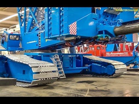 Watch This Monstrous RC Crane Lift Over 36 Kilograms