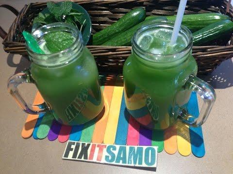 Video Refreshing Cucumber  Juice Recipe