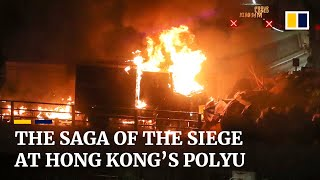 Hong Kong's PolyU siege : From beginning to end