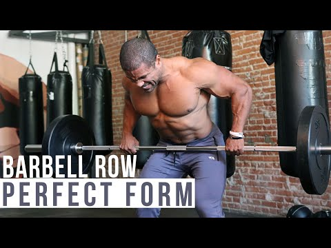 PERFECT FORM- BARBELL ROW