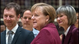 KANZLERIN IN CHEMNITZ: Merkel sucht Bürgerdialog – Großdemo angekündigt