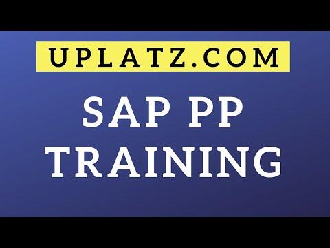 SAP PP Training & Certification | SAP Production Planning | SAP PP ...