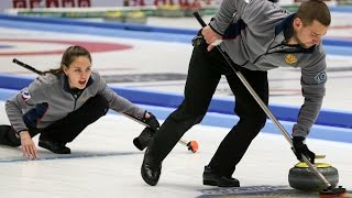 CURLING: RUS-CHN WCF World Mixed Doubles Chp 2016 - Final