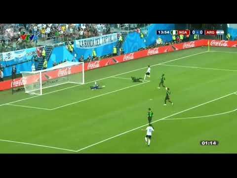Xem lại trận đấu Argentina vs Nigeria | World cup 2018 - bình luận tiếng Việt