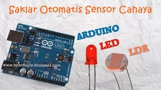 Saklar Lampu LED dengan Arduino Aria