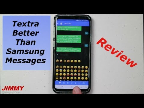 Textra SMS – Better Than Samsung Messages