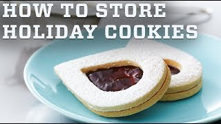 Christmas Cookie Storage | Anna Olson's Baking Tips