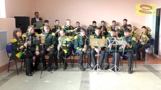 Народный духовой оркестр п.Шахан, 7 марта 2017 г