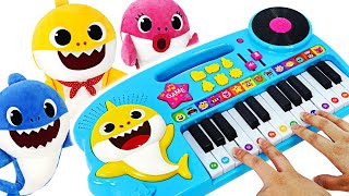 Join the Music contest on Shark's Family Piano with Baby Shark & Pinkfong! | PinkyPopTOY