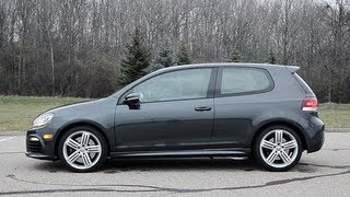 2012 Volkswagen Golf R - WR TV POV Test Drive
