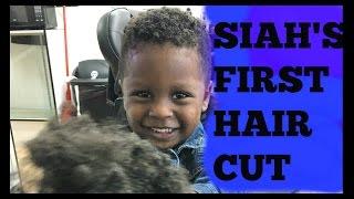 My Babys First Hair Cut | Natural Hair Kids| 2017