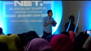 Rizky Febian - Jatuh Hati (Original Song By Raisa) #NETJalanJalanKampus Unair Surabaya