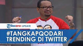 Seruan Wacana Jokowi 3 Periode Tuai Kecaman, Tagar 'TangkapQodari' Trending Topic Twitter
