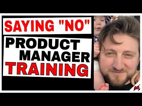 Product Management Training: Saying
