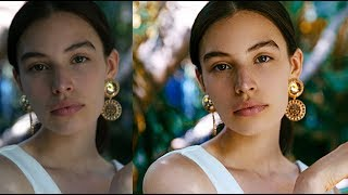 How I Edit and Retouch Fashion Portraits - Photoshop Tutorial