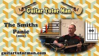 Panic - The Smiths - Guitar Tutorial (2020 version ft. my son Jason &  granddaughter Molly)
