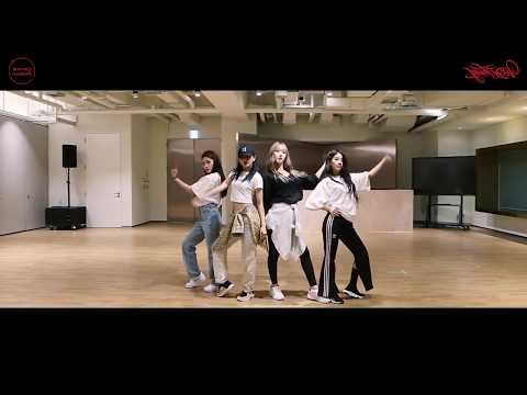 [Mirrored] [STATION X 0] 슬기 X 신비 X 청하 X 소연 - 'Wow Thing' Mirrored Dance Practice 안무영상 거울모드