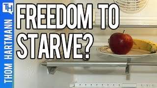 Debate: Do Libertarians Want The Freedom To Starve?