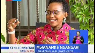 MWANAMKE NGANGARI: Bi Joyce Msuya, Naibu Mkurugenzi wa UNEP