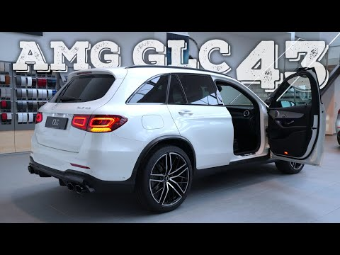 New Mercedes AMG GLC 43 2021