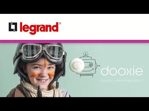 dooxie™ : les nouveaux interrupteurs et prises Legrand pour booster votre imagination !
