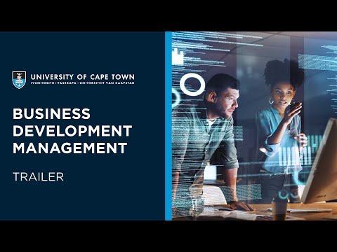 UCT Business Development Management Online Short Course | Trailer