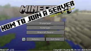 How to add servers on minecraft pc (hunger games)