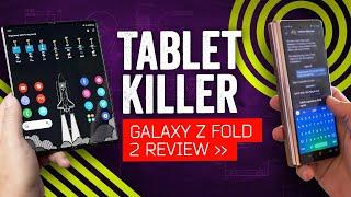Samsung Galaxy Z Fold2 5G Review: Tablet Killer