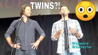 Jensen Ackles HILARIOUS Reaction To Finding Out Hes Having Twins At An Airport