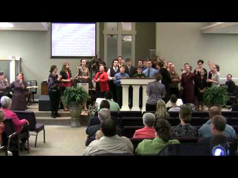 Cornerstone Apostolic Choir singing Just Speak Life To It