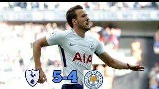 Totenham Hotspur Vs Leicester 5-4 Hasil Bola Liga Inggris Tadi Malam 13-5-2018. HD
