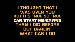 KARAOKE-DON MCLEAN-CRYING