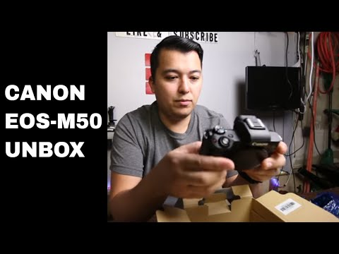 Canon EOS M50 Unboxing And review and Test Footage 4k!