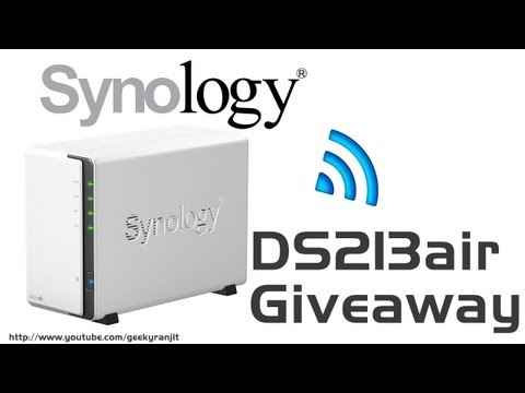 Synology DS213air NAS Giveaway (India Only)