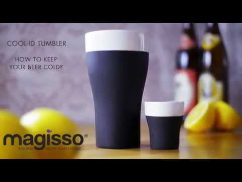 Product demonstration video of the Magisso Cool-ID Tumbler