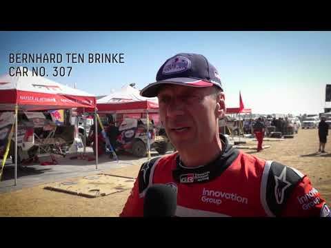 【ダカールラリー ToyotaGazooRacingチームのハイライト動画】ステージ8ハイライト