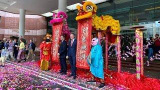 InterContinental Hong Kong, 2020 Chinese New Year Celebrate Lion Dance