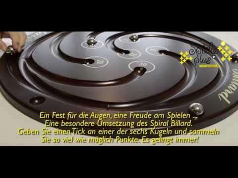 SpielePlus - Spiral Tischbillard