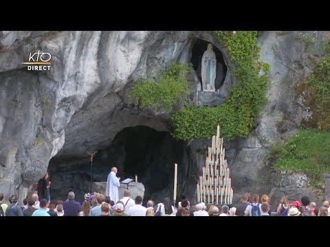 Chapelet du 3 août 2020 à Lourdes