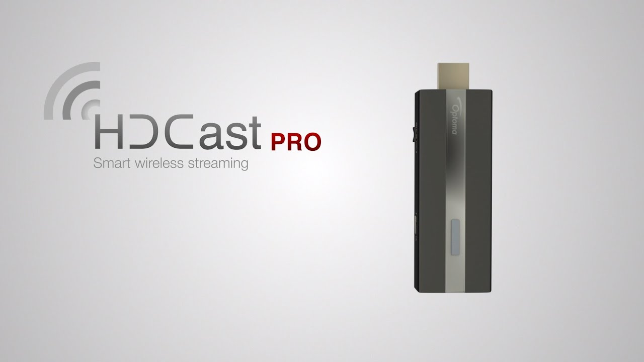 Optoma's HDCast Pro Lets You Wirelessly Share Video From Mac, PC, Tablet Or Phone
