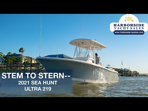 Sea Hunt Ultra 219 video