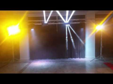 iluminación profesional para eventos y fiestas