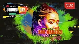 Sho Madjozi At Huawei Joburg Day In The Park