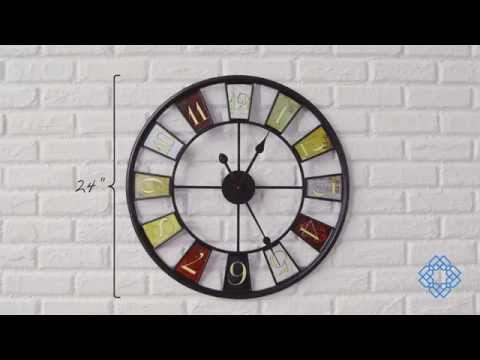 Video for Kaleidoscope Wall Clock